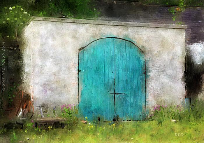 Old Barn At Russborough House