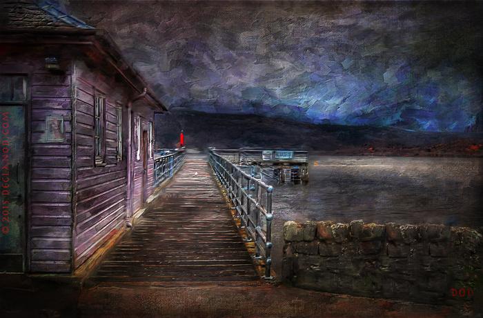 Pier At Luss