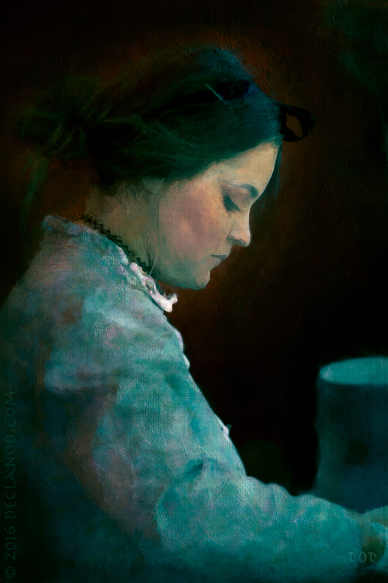 Tristesse - Woman In Blue