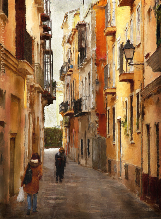 Back Streets Of Spain