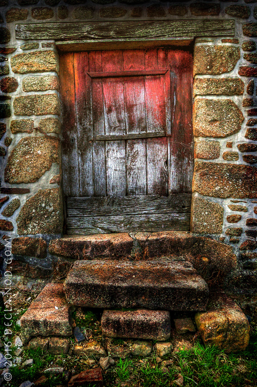 Red Door At Buais