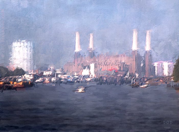 The Thames At Battersea