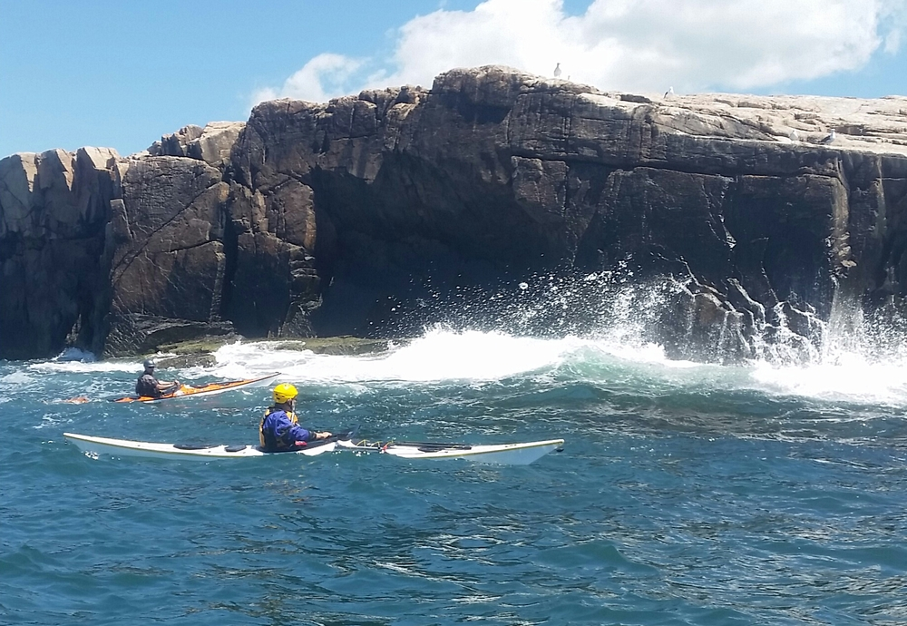 Open Water Instructor Development Workshop at Sakonnet Point, RI, June 2014 (photo S. Banks)
