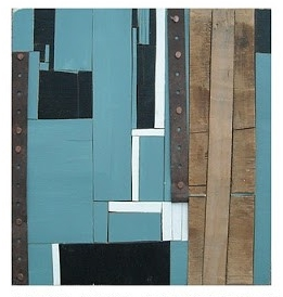 "Joshua Willis, ""Joint,"" Wood, Metal, Acrylic, 2007, Private Collection"