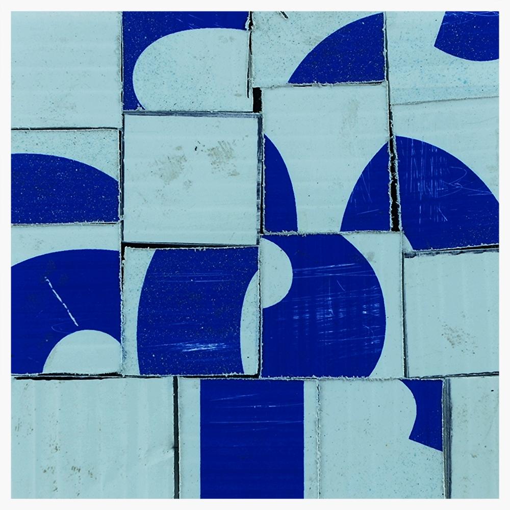 """Joshua Willis, """"DaDa,"""" Corrigated Plastic, 2015"""