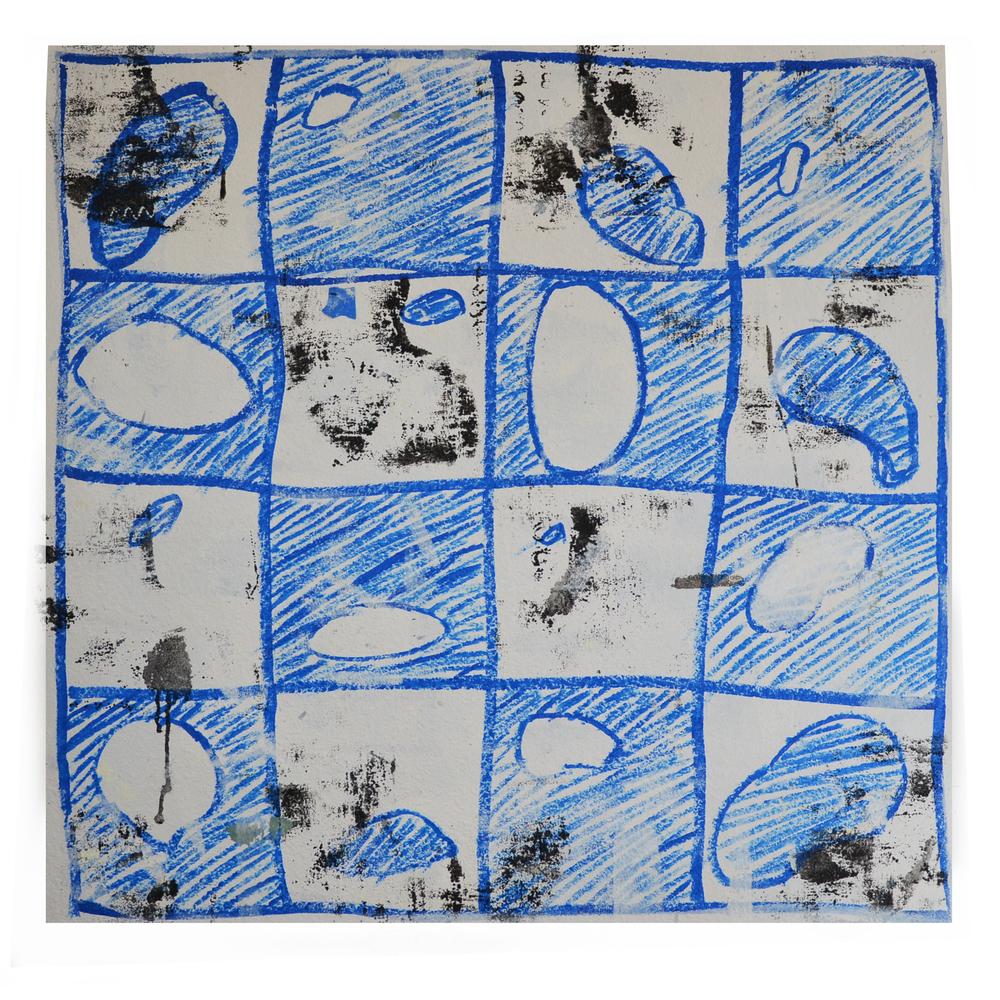 "J.Willis, ""Pinto Bean"", Acrylic, 2015"