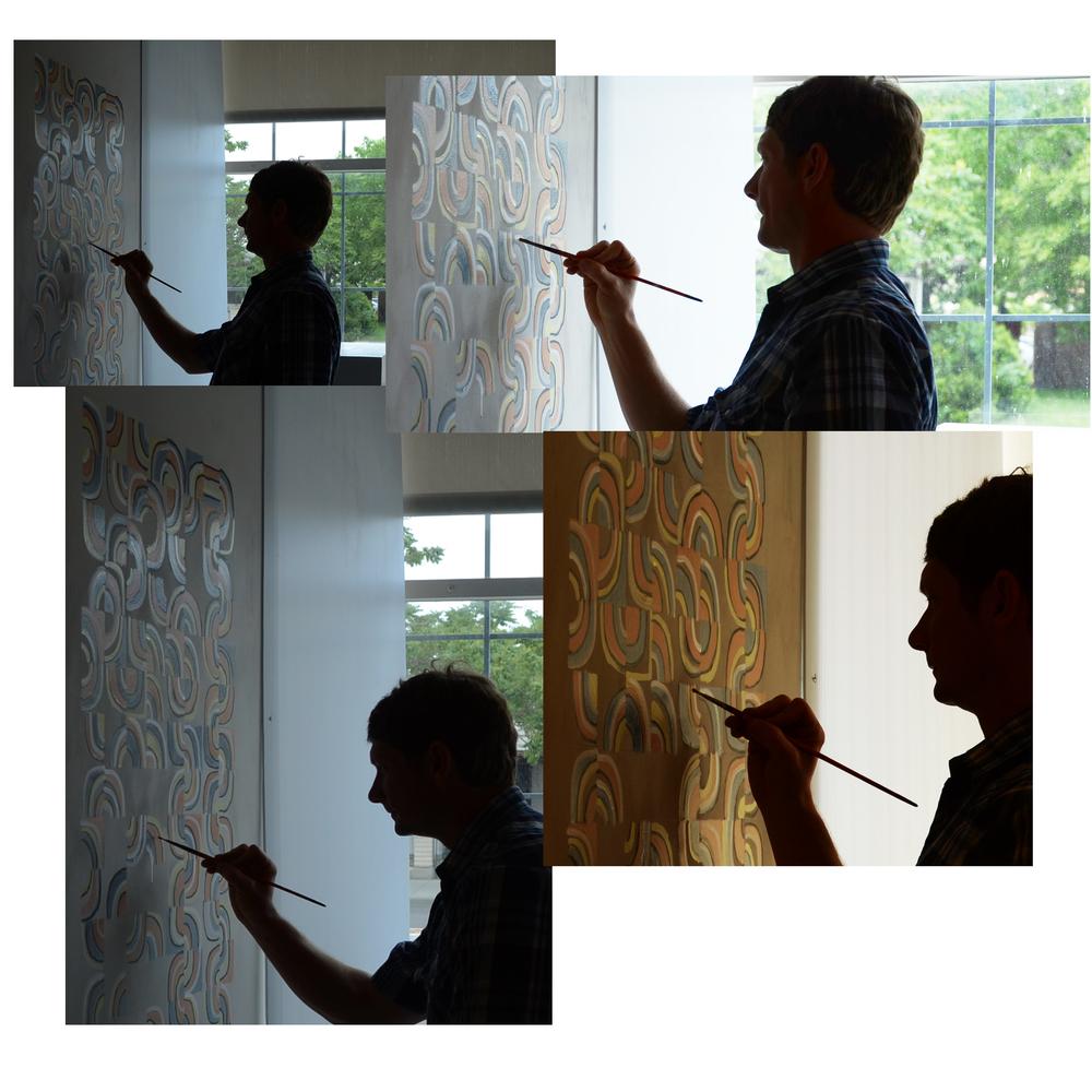 "J. Willis, ""Wall Painting"", Exhibit 208, 2016"
