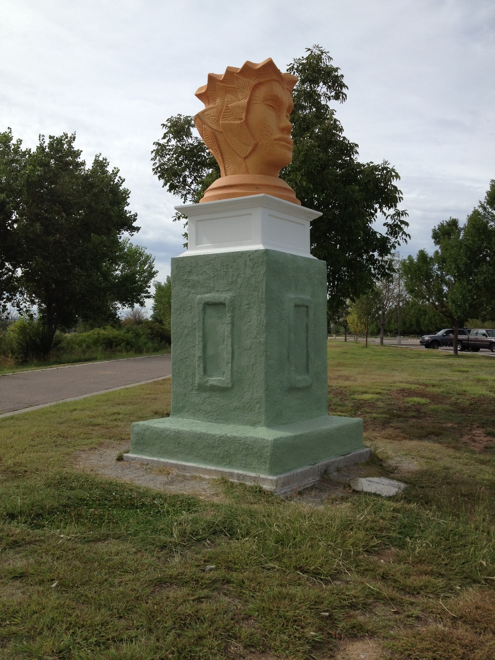 """Trumbulina,"" Public Art Restoration Project, City of Albuquerque, 2015"