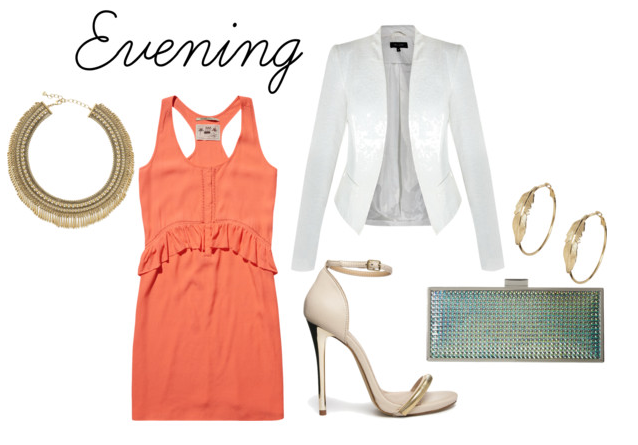 tangerine-evening-dress