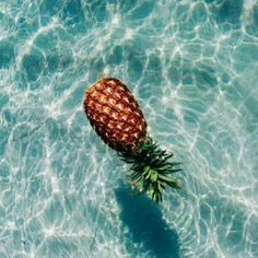 This pineapple knows what's up.  Source .