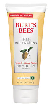 Burt's Bees Richly Replenishing Body Lotion . I went through this so fast. So smooth.