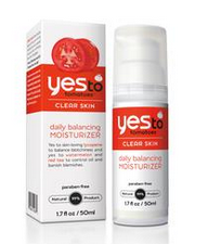 Yes To Tomatoes Daily Balancing Moisturizer . Definitely helps clear skin and balance skin tone. I used this before I went with one with an SPF for spring/summer.