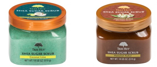 Tree Hut Shea Sugar Scrub . These things smell amazing and have a nice coarse texture perfect for arms, butt, legs, and feet!
