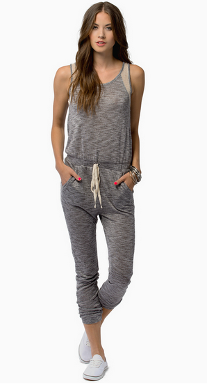 I can't get over how adorable and comfy looking this  jumpsuit from Tobi  is.