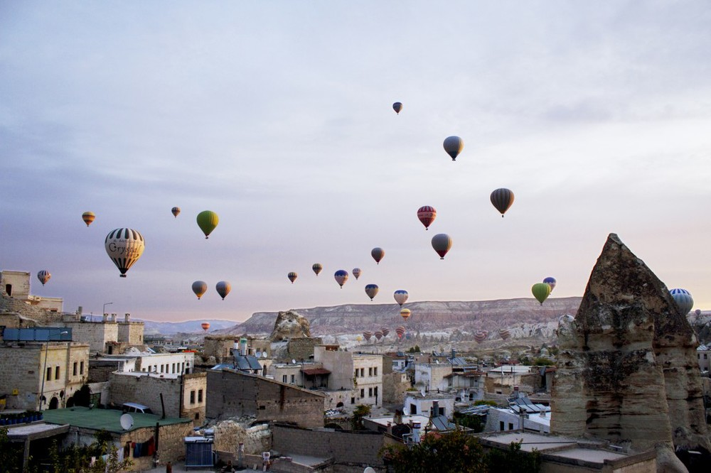 The photos and story here about Cappadocia by Chelsea Frischknecht are truly incredible. Worth a read, for sure.