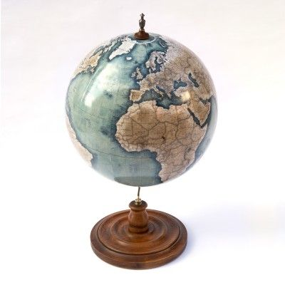 These handmade globes are absolutely stunning works of art.