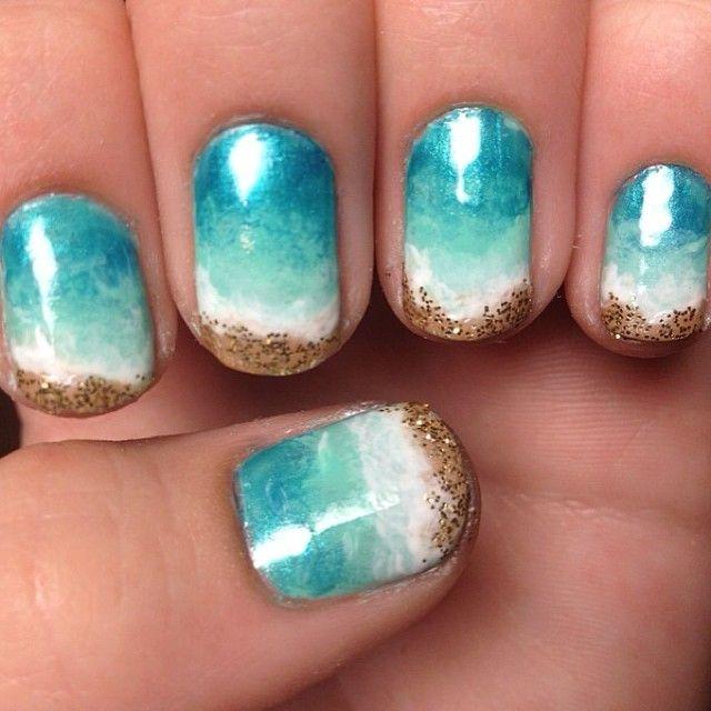 beach-nails-nail-art