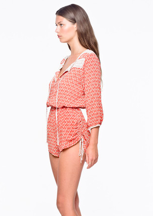 Woodstock Playsuit by Faithful the Brand