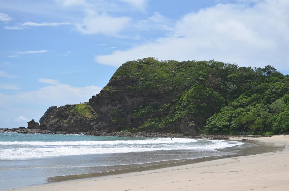 Playa Maderas. Empty, grand, lush.
