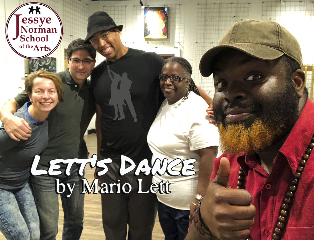 Mario Lett... - My story is quite different. I did not get my dance start until around 2005 when a friend of mine invited me to go swing dancing. I told him