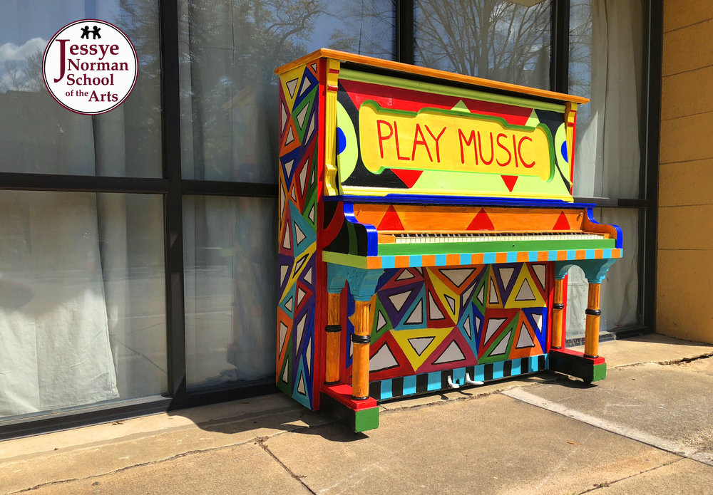 "Painted Piano by audrey ""Sala adenike"" jeter-allen"