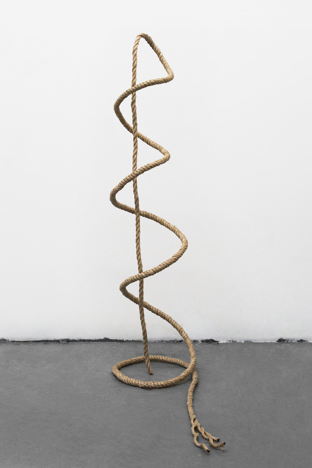 Untitled, 2016   Rope, Aluminum