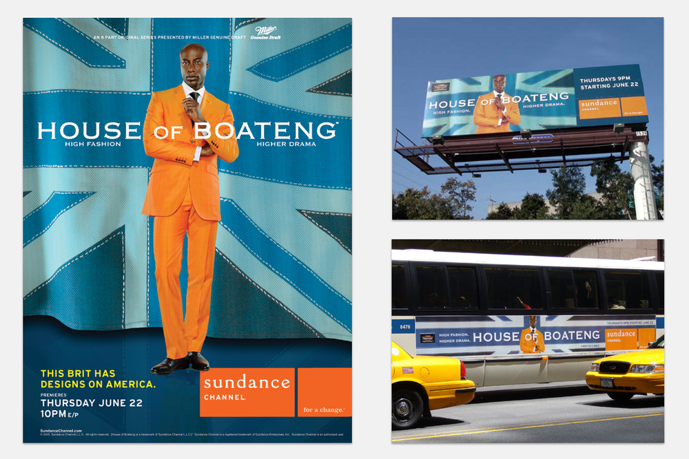 "Advertising campaign for ""House Of Boateng"".  An eight-part real life documentary series called   House of Boateng,   tracking the journey of Boateng as he embarks on the expansion of his brand in the United States.   The series was produced by   Robert Redford   and   Ben Silverman  .   Photography by  Jill Greenberg  & Bill Zimmer"