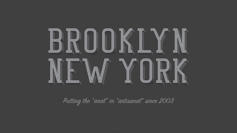 I miss the old pre-twee Brooklyn. Celebrate our collective loss with a free desktop pattern!   Download Jpg