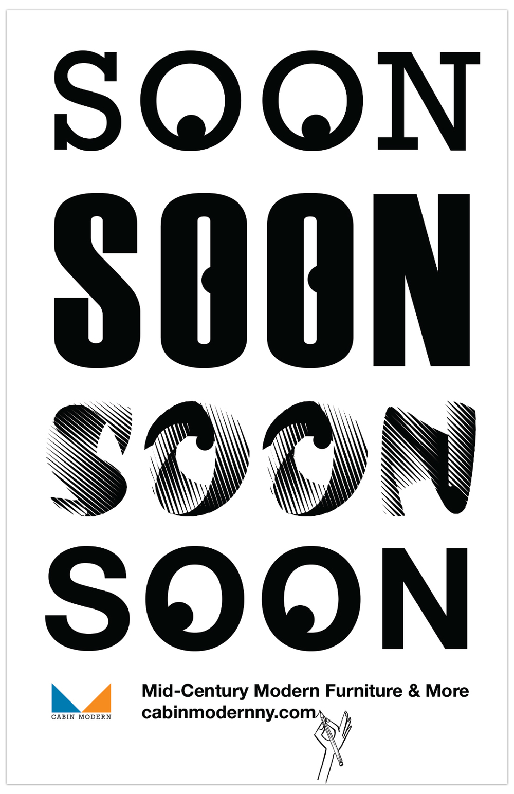 Coming Soon poster for  Cabin Modern