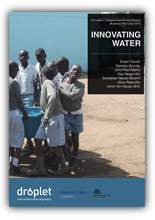 Innovating Water: Business Plan 2013