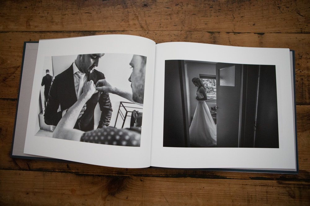 Trouwboek bij je bruidsreportage