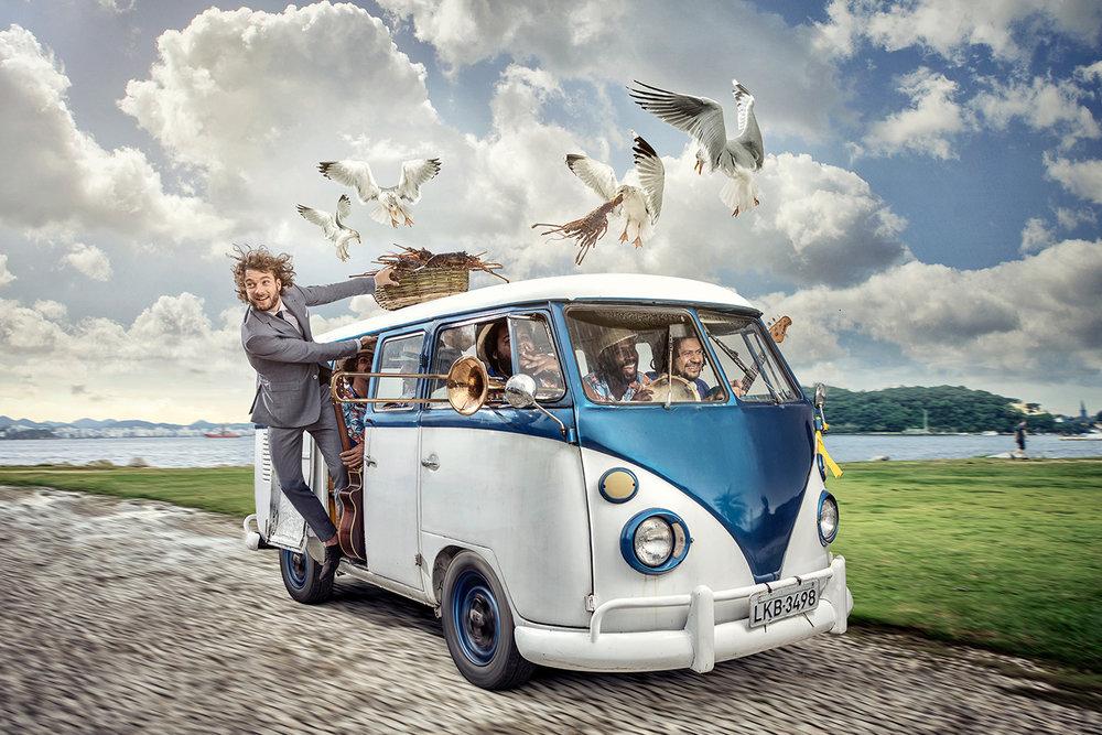 Van Gils Campagne VW bus