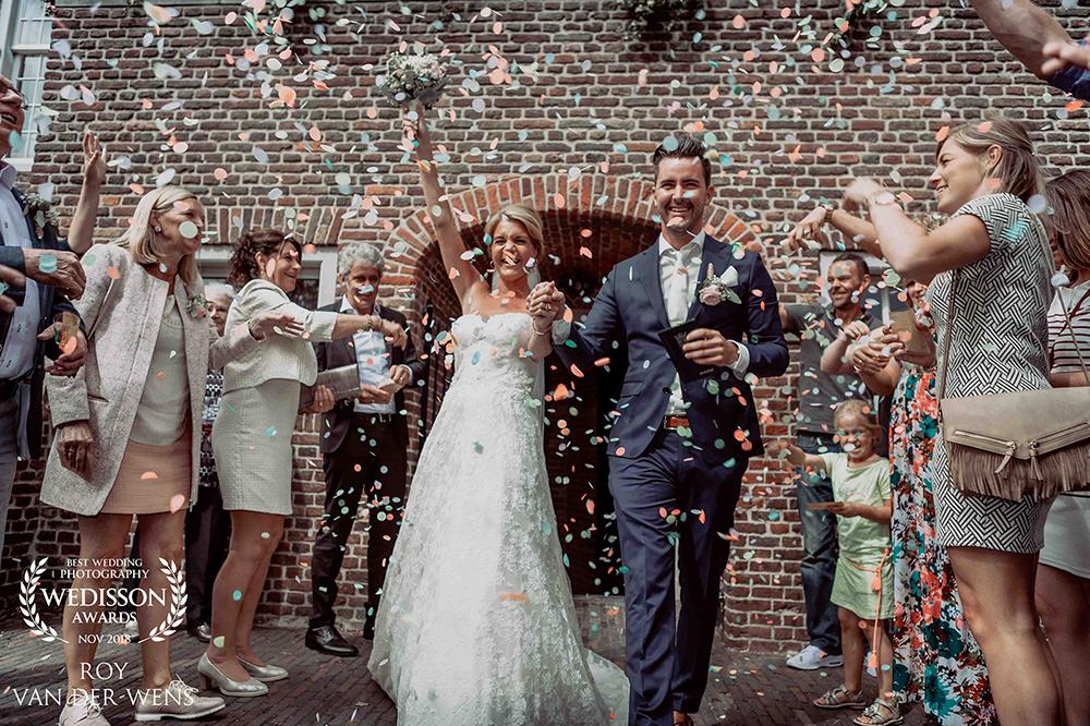Gewonnen als beste trouwfotograaf, nov 2018