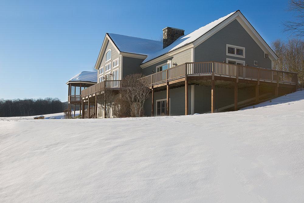 Sunrise Mtn house side winter Maria Barr.jpg