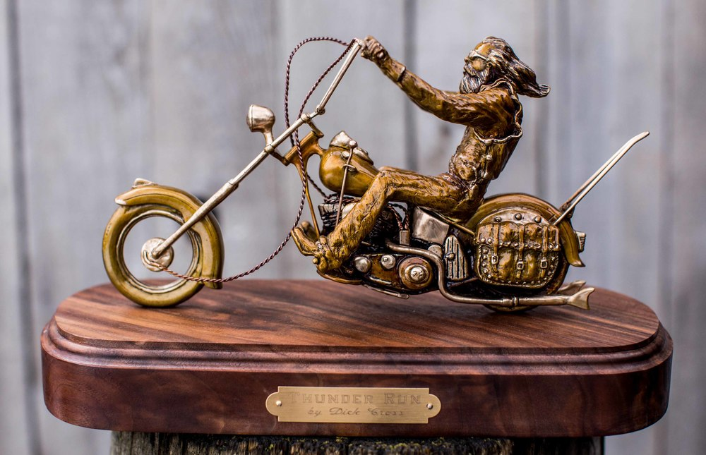 Small Bronze Bike Raffle Tickets on sale now!