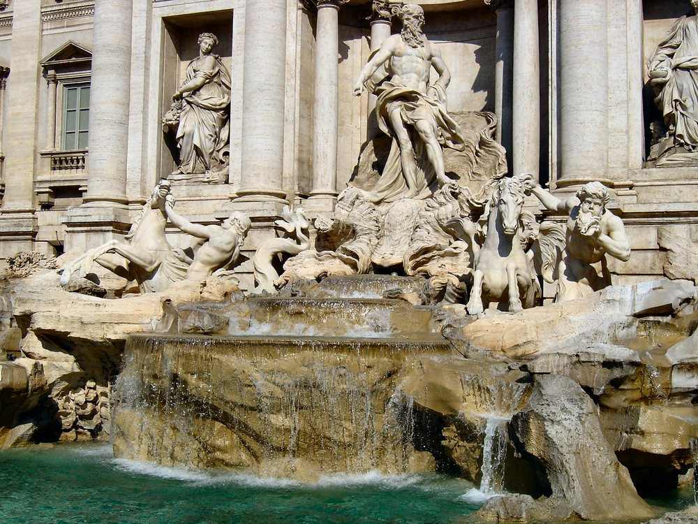 Rome's Trevi Fountain