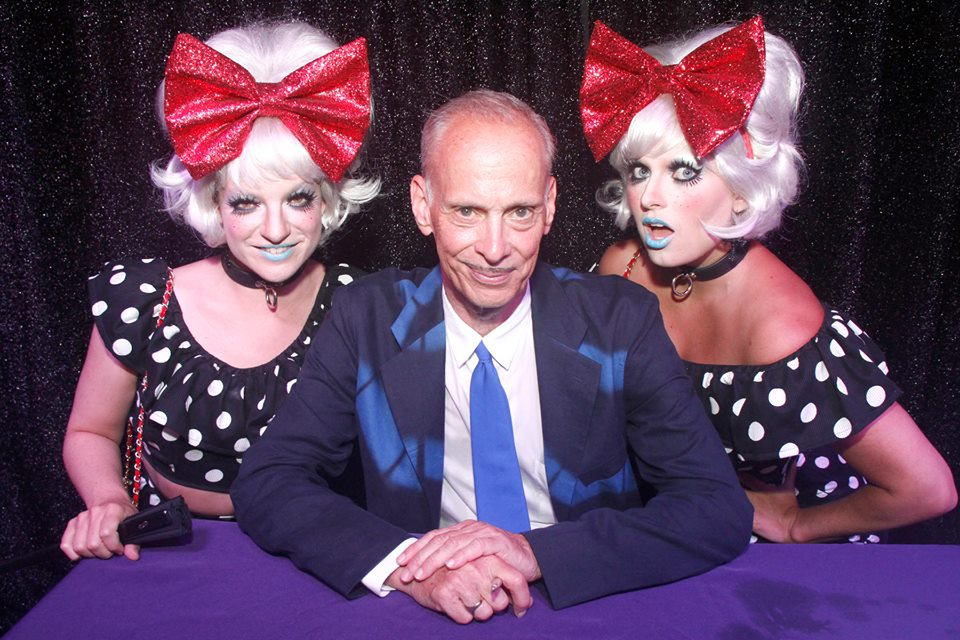 Meeting idol of life John Waters, Fire Island
