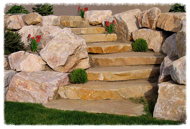 RockScapes Landscaping on Backyard Rockscape Ideas id=37395