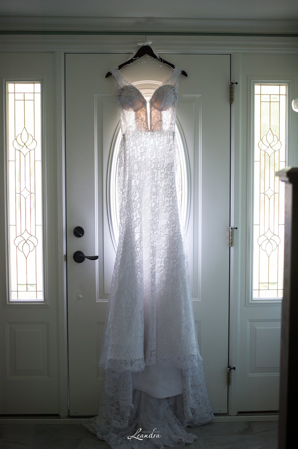 Pnina Tornai Lace Wedding gown