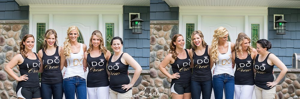 "I love these ""I do Crew"" shirts!"