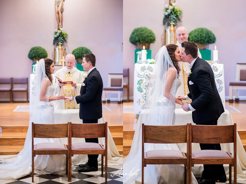 The Park Savoy Estate Wedding church ceremony | New Jersey Wedding Photographer