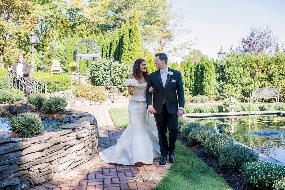 The Park Savoy Estate Wedding Bride and Groom photos | New Jersey Wedding Photographer