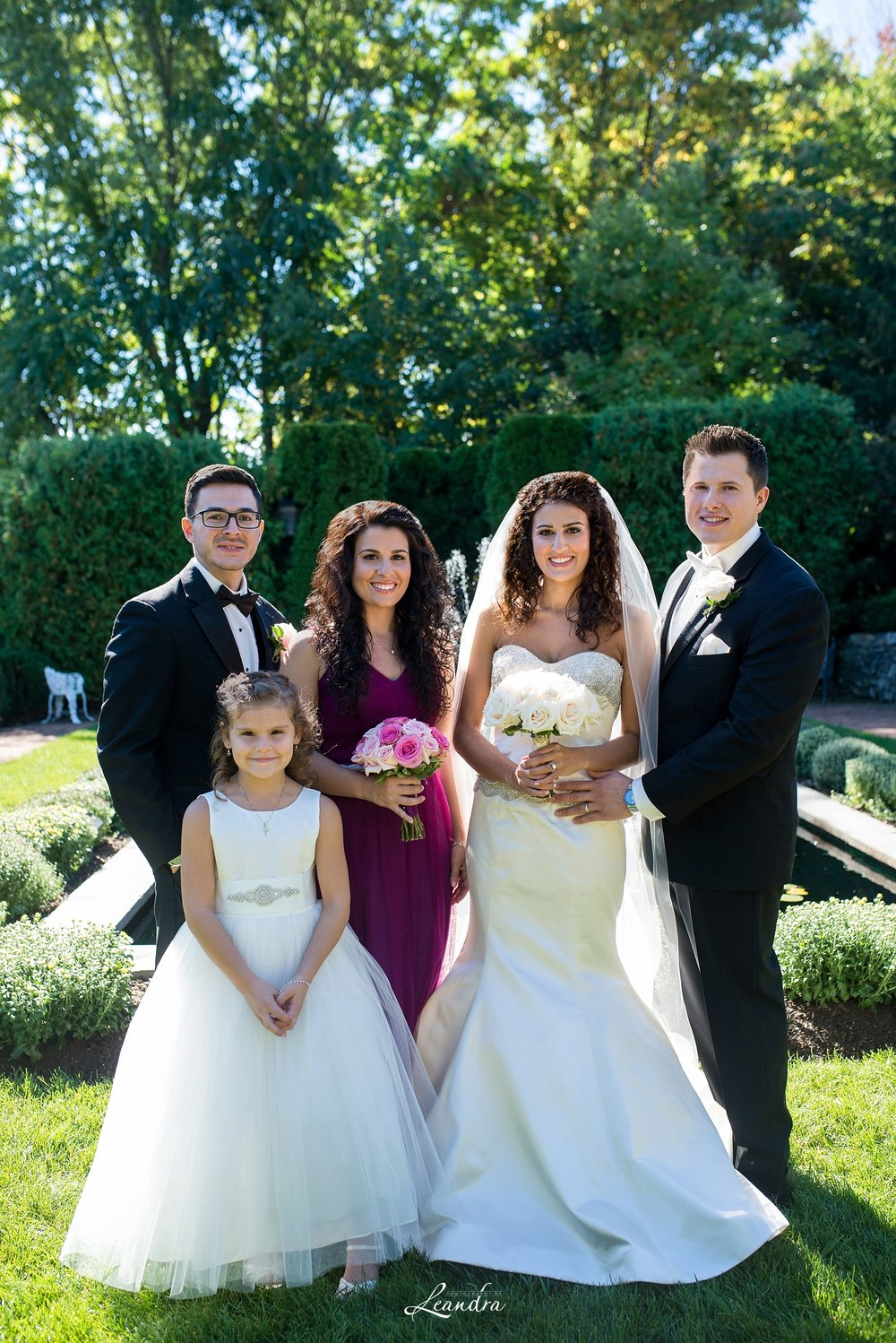 The Park Savoy Estate Wedding Bridal Party | New Jersey Wedding Photographer