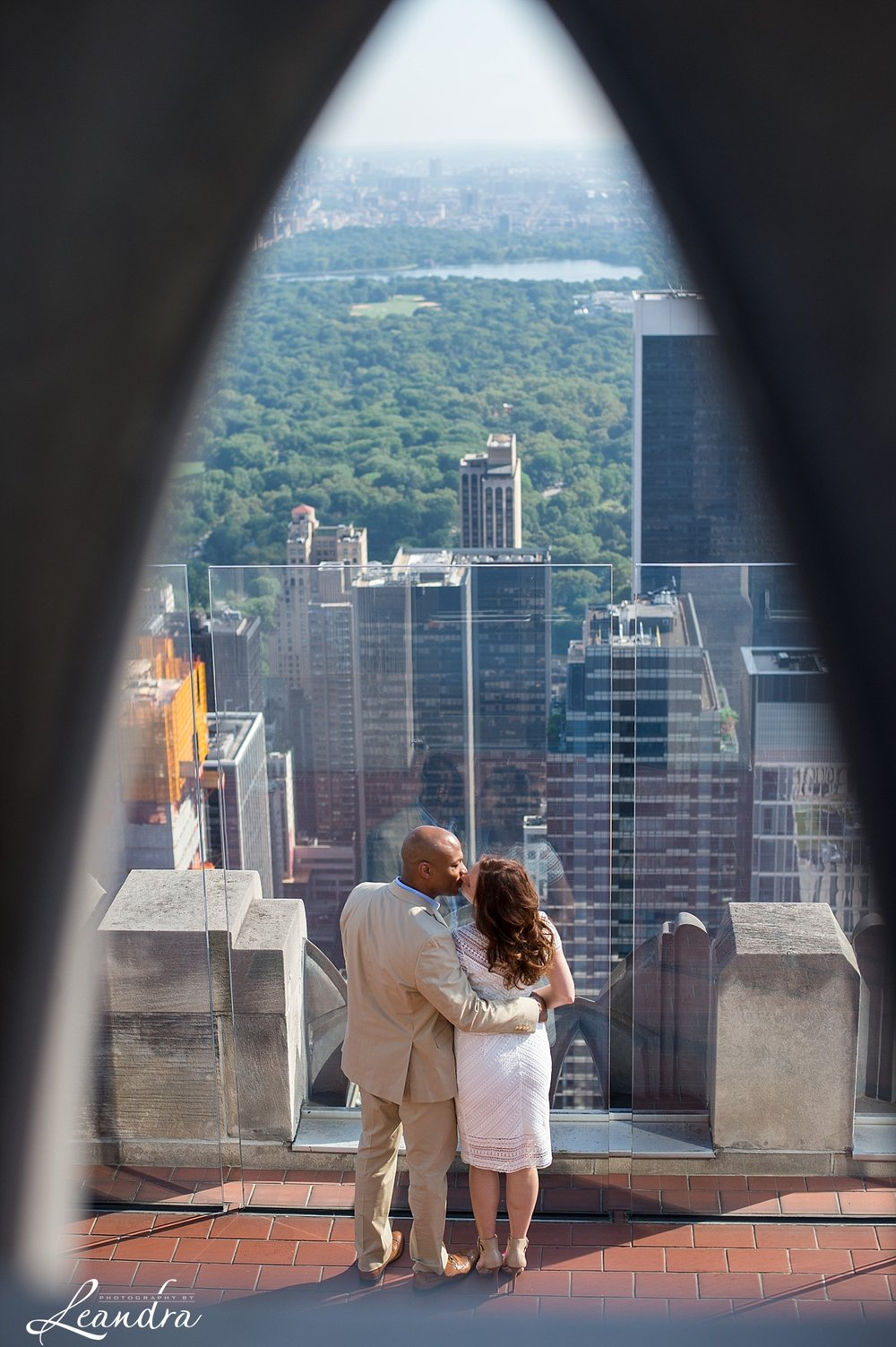 Top of the Rock NYC Engagement Session.Photography by Leandra_0053.jpg
