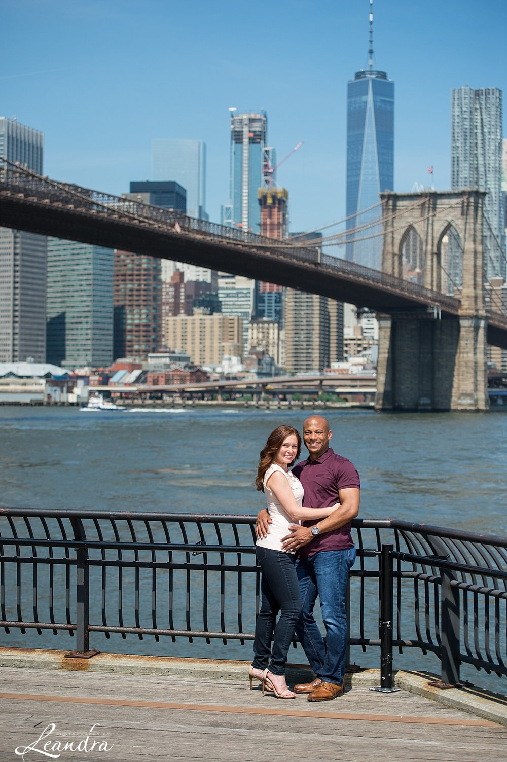 Brooklyn Bridge Park Engagement photos.Photography by Leandra_0062.jpg