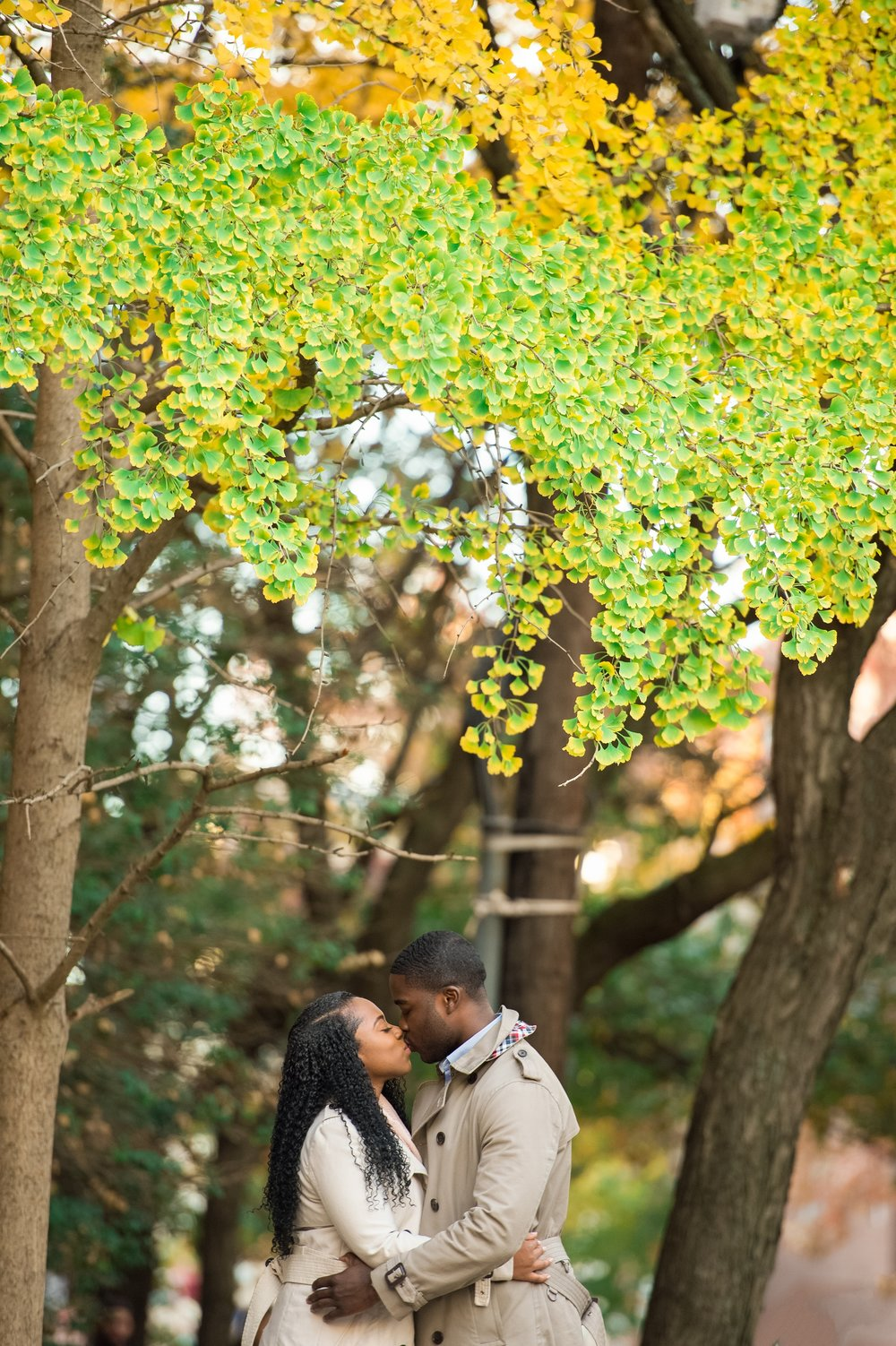 Fall Hoboken Engagement Session