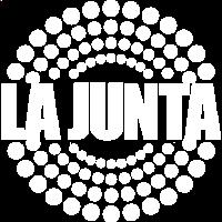 LA JUNTA LOGO WHITE
