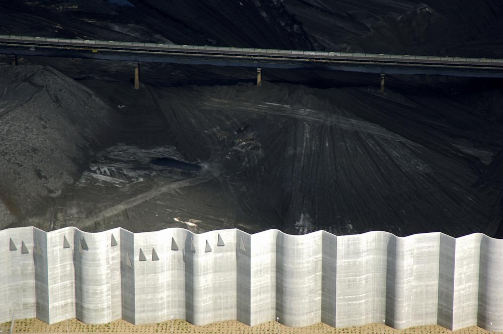 "Figure 3: A pragmatic but poetic line. ""Coal surplus. Hostrupskov, Denmark"". Photograph: Christopher Line."
