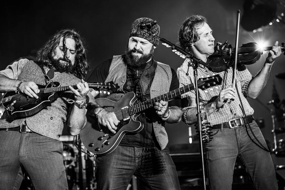 Clay Cook, Zac Brown, and Jimmy De Martini - Charleston, South Carolina - October 20, 2013