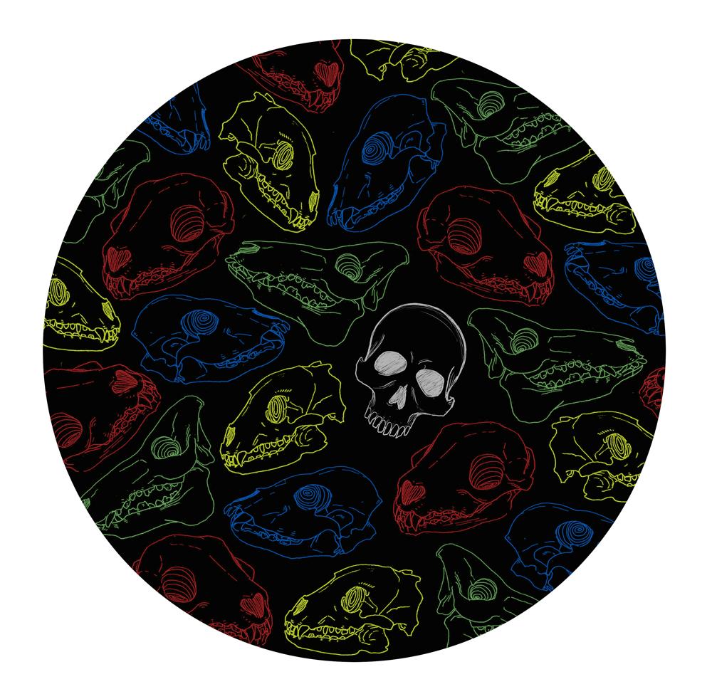 Skull-paper